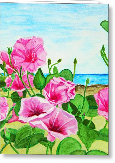 Beach Glories Greeting Card by M Gilroy