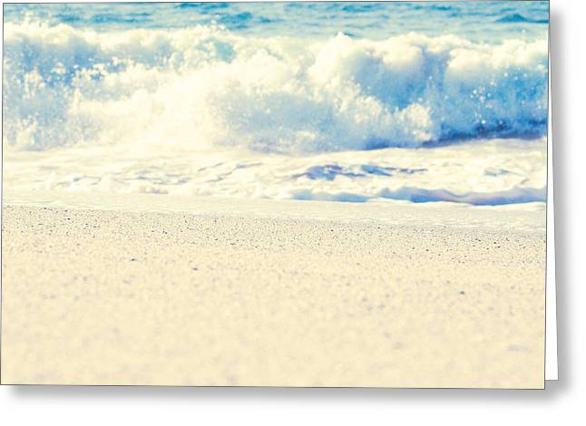 Greeting Card featuring the photograph Beach Gold by Sharon Mau