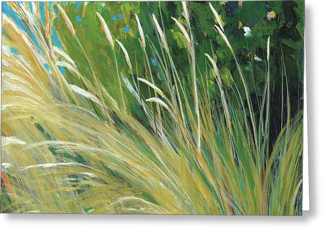 Beach Grass 1 Greeting Card by Melody Cleary