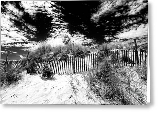 Beach Haven Greeting Card by John Rizzuto