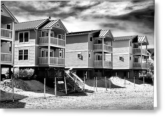 Beach Haven Living Greeting Card by John Rizzuto