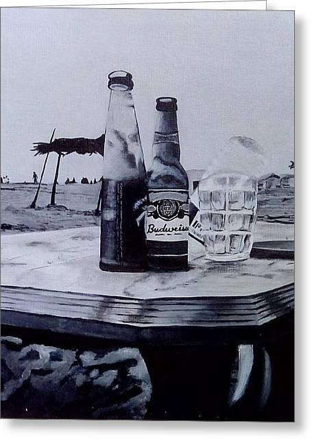 Beach Greeting Card by Himanshu Aggarwal