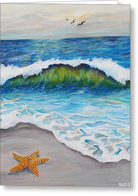 Beach Life  Greeting Card by Brittany Sibert