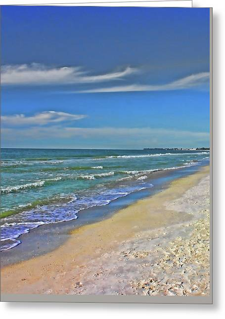 Beach Life Greeting Card