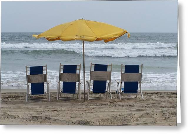 Jeff Moose Greeting Cards - Beach Life Greeting Card by Jeff Moose