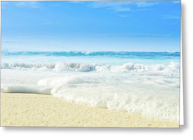 Greeting Card featuring the photograph Beach Love Summer Sanctuary by Sharon Mau