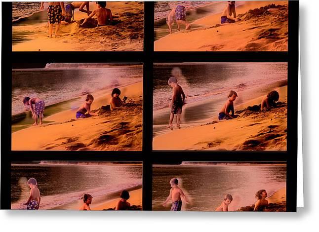 Beach Memories Greeting Card by Madeline Ellis