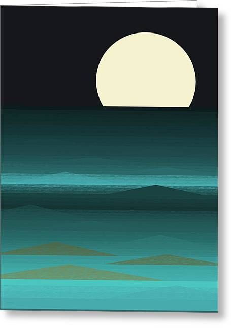 Beach Nights Greeting Card