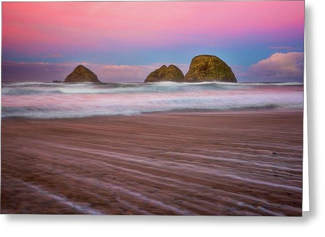 Greeting Card featuring the photograph Beach Of Dreams by Darren White