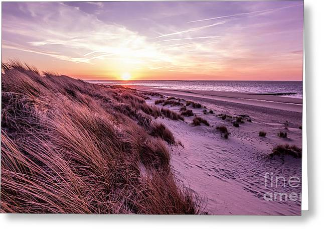 Beach Of Renesse Greeting Card