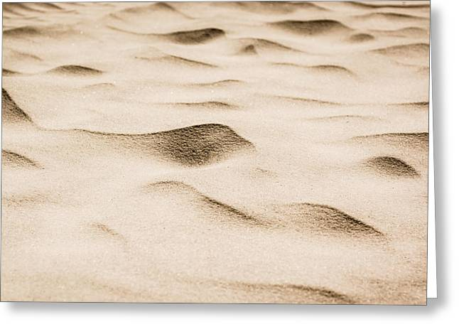 Beach Patterns Greeting Card by Shelby Young