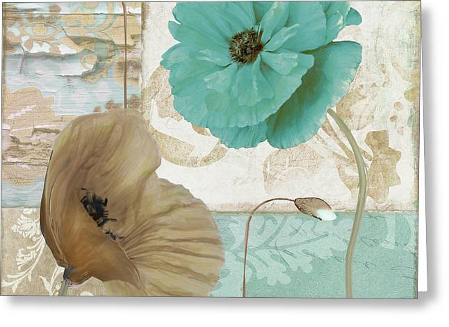 Beach Poppies IIi Greeting Card
