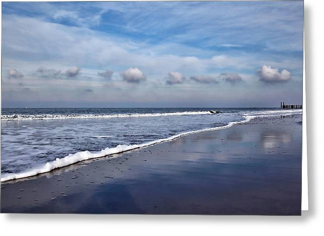 Beach Reflections Greeting Card
