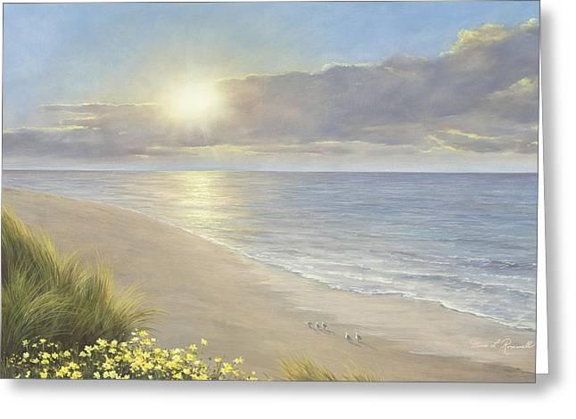 Beach Serenity Greeting Card