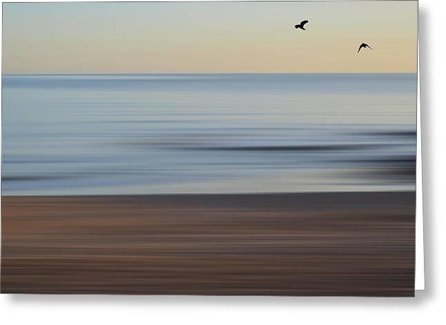 Beach Greeting Card by Sharon Lisa Clarke