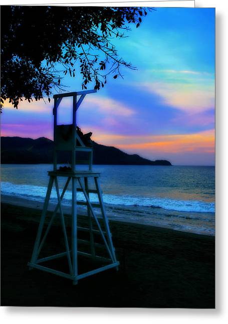 Best Ocean Photography Greeting Cards - Beach Sky Greeting Card by Perry Webster