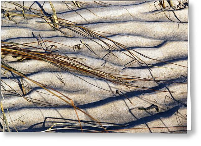 Beach Tapestry Greeting Card