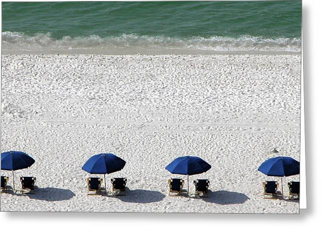 Greeting Card featuring the photograph Beach Therapy 2 by Marie Hicks