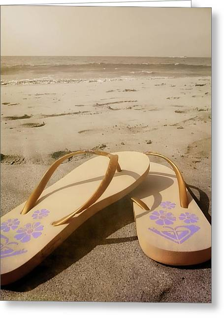 Beach Therapy Greeting Card by JAMART Photography