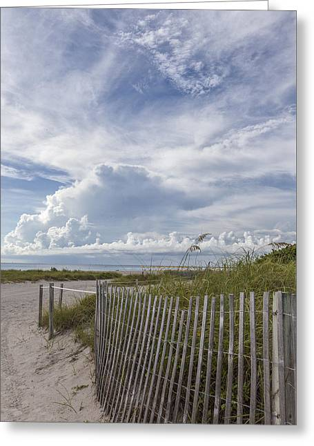 Beach Time Greeting Card by Jon Glaser