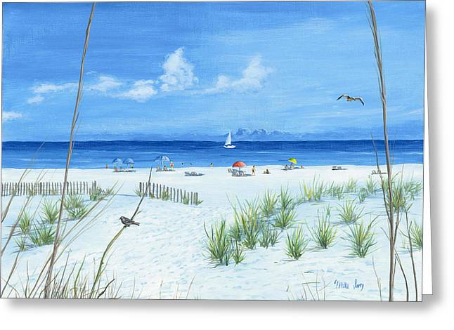 Beach Time Greeting Card