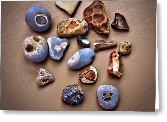 Beach Treasures Greeting Card by Loriental Photography