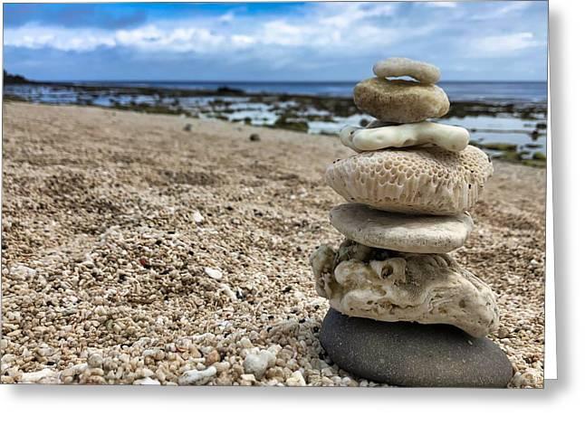 Beach Zen Greeting Card