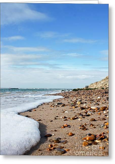 Beachcombing Greeting Card