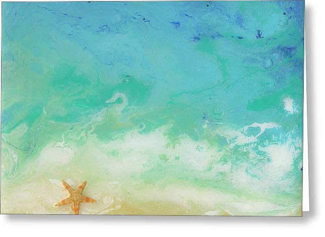 Beached Starfish Greeting Card
