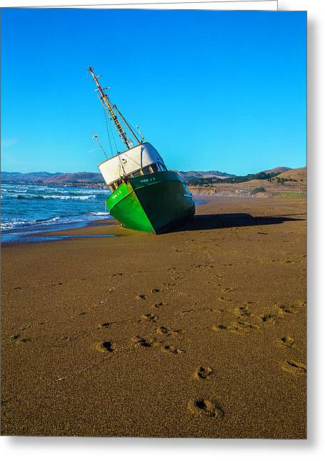 Beached Verna A II Greeting Card