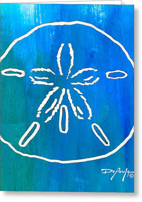 Beachside Sand Dollar Greeting Card