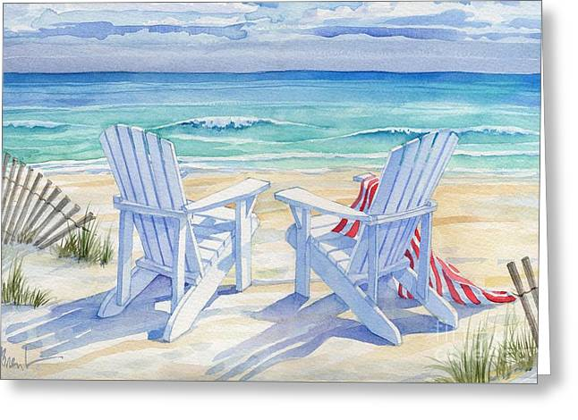Beachview Greeting Card