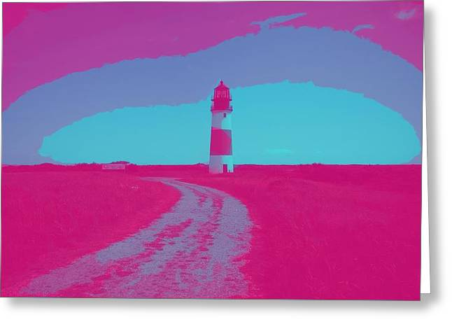 Beacon Of Hope, Lighthouse 2 Greeting Card