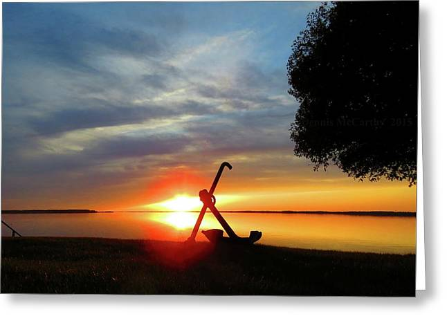 Beadles Point Sunset Greeting Card