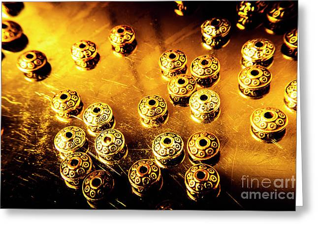 Beads From Another Universe Greeting Card by Jorgo Photography - Wall Art Gallery