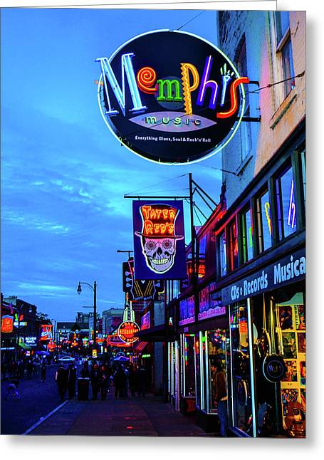 Beale Str. Blues  Greeting Card