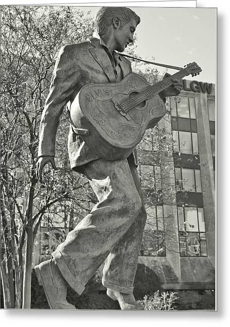 Beale Street Muse Greeting Card by JAMART Photography