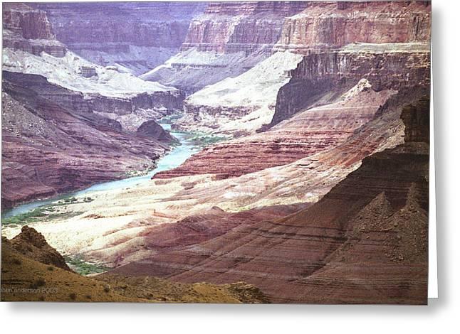 Beamer Trail, Grand Canyon Greeting Card