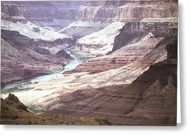 Beamer Trail Grand Canyon Greeting Card