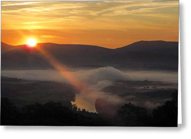 Beaming Shenandoah Greeting Card