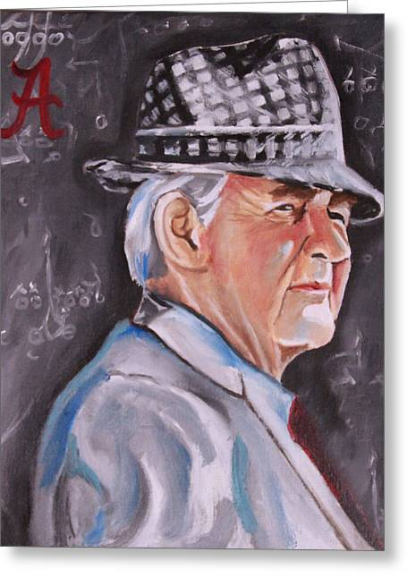 Bear Bryant Greeting Card