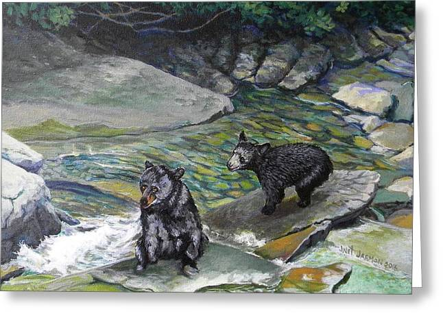 Bear Creek Greeting Card