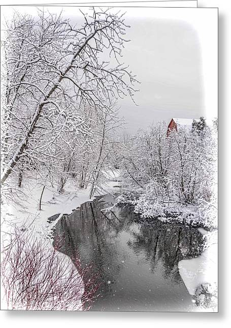 Silver Creek Greeting Card