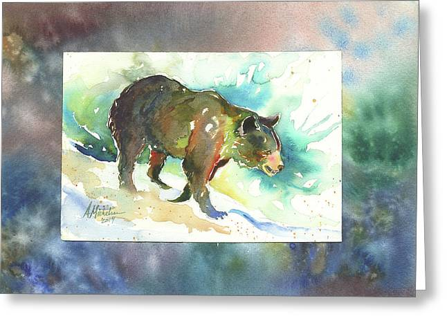 Bear I Greeting Card