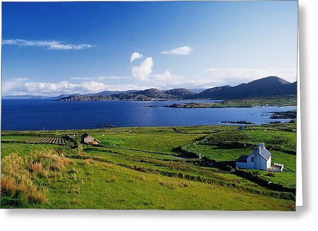 Beara Penninsula, Co Kerry, Ireland Greeting Card by The Irish Image Collection