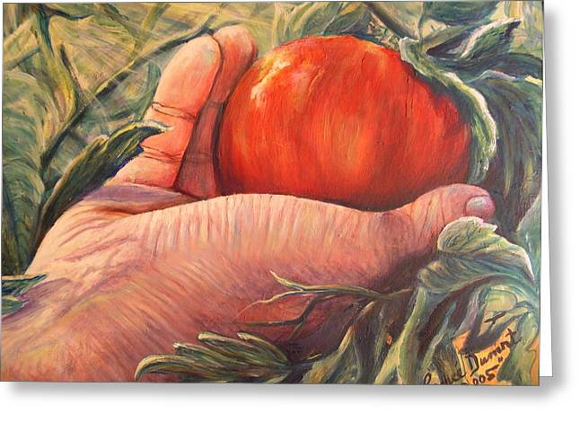 Bearing Good Fruit Greeting Card by Renee Dumont  Museum Quality Oil Paintings  Dumont