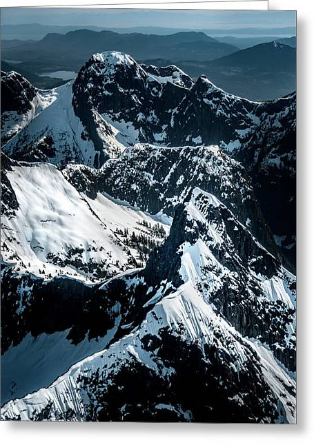 Beartooth Mountain Bc Greeting Card