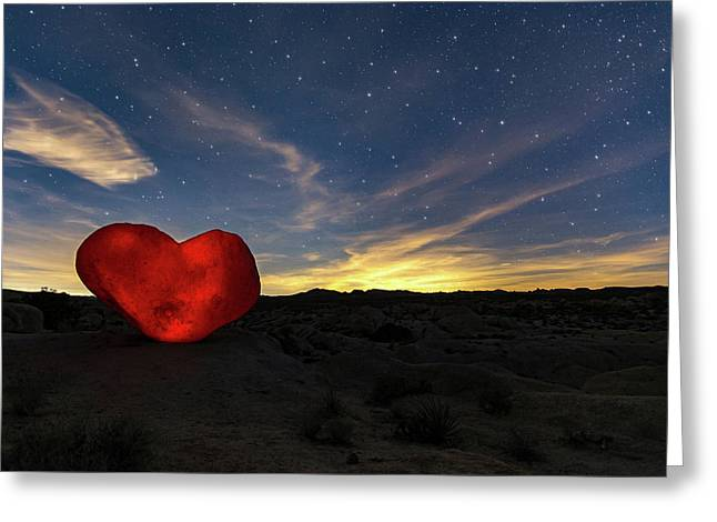 Greeting Card featuring the photograph Beating Heart by Tassanee Angiolillo