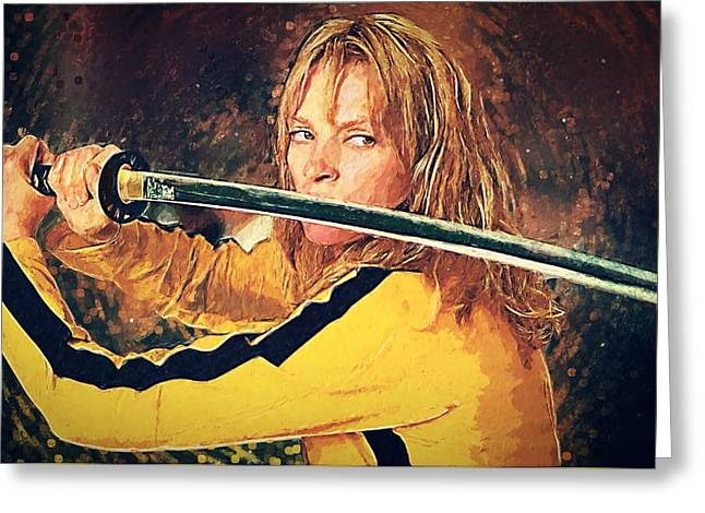 Beatrix Kiddo - Kill Bill Greeting Card