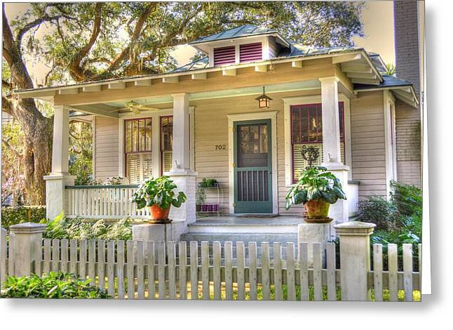 Beaufort Cottage Greeting Card